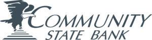 Community State Bank Logo - B&W